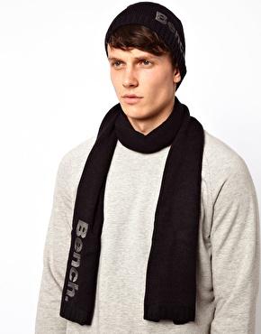 Coffret Bench : écharpe, gants et bonnet