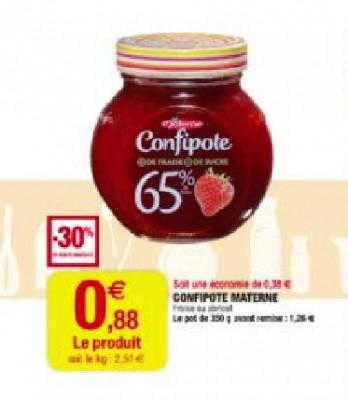 Confiture Confipote Gratuite (-0.12€)