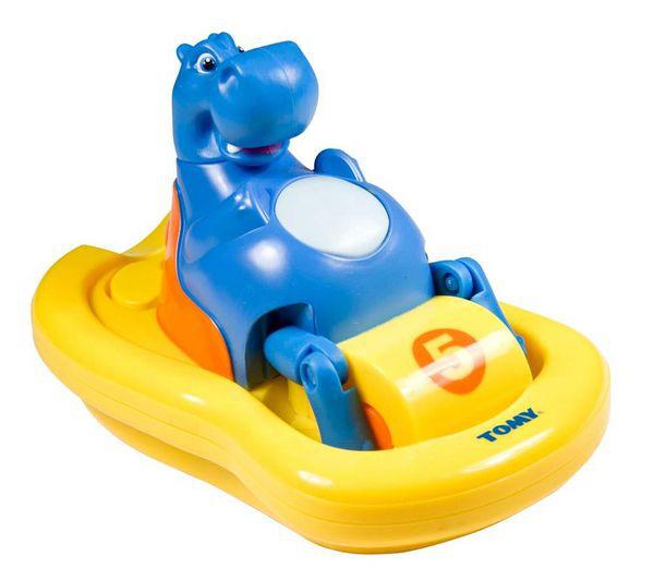 Jouet de bain Tomy Hippo Pédalo