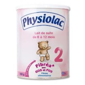 échantillon lait physiolac