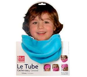 Cache cou polaire Tube Red Castle - Turquoise