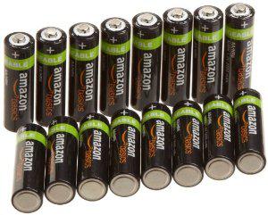 16x Piles Rechargeables AmazonBasics AA 2000 mAh - Préchargées (LR6) + Autres références (voir description)