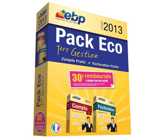 EBP Pack Eco 2013 Compta & Facturation (Avec ODR de 30€)