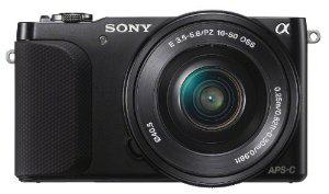 Appareil photo hybride Sony NEX-3NLB + Objectif 16-50 mm