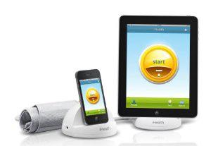 Station d'accueil iHealth IHBPM avec Tensiomètre + Chargeur + Système de suivi pour iOS