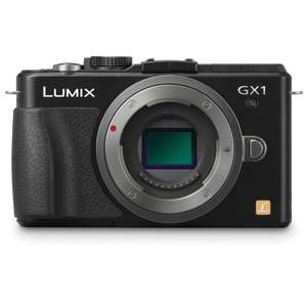 Appareil photo hybride Panasonic Lumix GX-1 boitier nu Capteur Live Mos 16 Mp