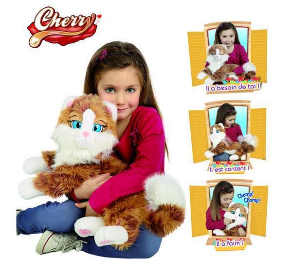 Jouet Giochi Preziosi Emotion Pets - Mon chat Cherry