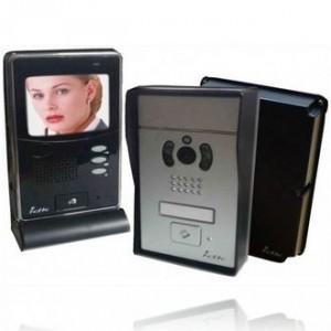 Visiophone couleur sans fil numérique PVNC-100 2 ouvertures gâche et portail
