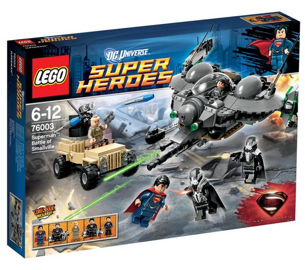 Lego Super Heroes DC Universe - Superman : la bataille de Smallville