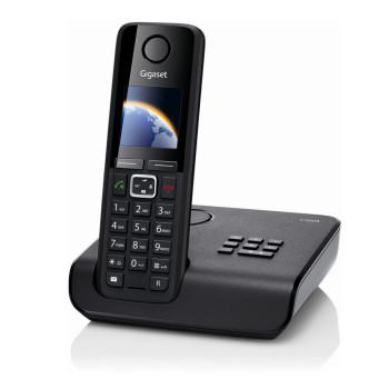 Téléphone fixe Gigaset C300 A Black + Répondeur