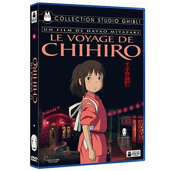 DVD de Miyazaki : Le Château dans le ciel, Le Voyage de Chihiro et Pönio sur la falaise, l'unité