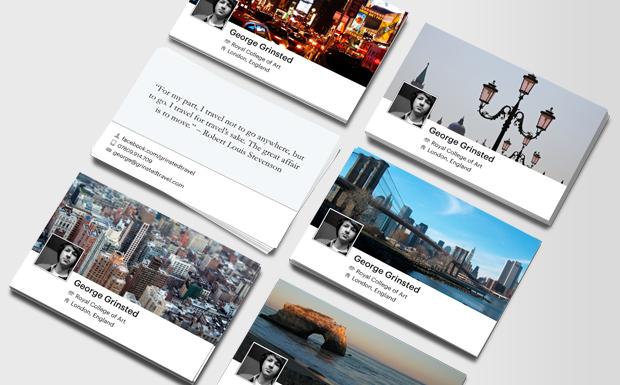 """50 cartes de visite """"Facebook"""" gratuites (3.5€ de frais de port)"""