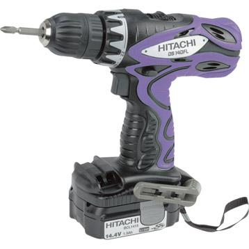 Perceuse sans fil Hitachi DS 14DCL LV 14.4V 1.5Ah, lithium-ion