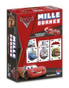 Jeu de Société Mille Bornes Cars + Livre de coloriage Cars