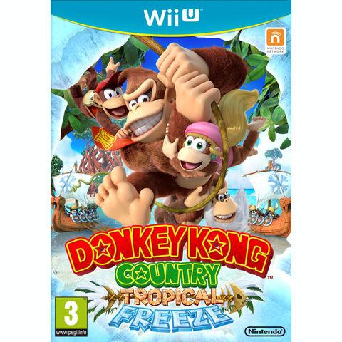 Pré-commande : Donkey kong Country Returns Tropical Freeze Wii U + Porte Clef exclu !