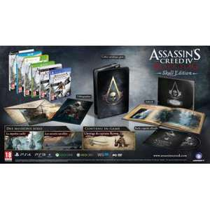 Assassin's Creed 4 Black Flag Edition Collector Skull sur PS3/360