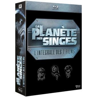 La Planète des Singes - Coffret Blu-Ray intégrale 7 Films
