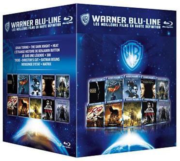 Coffret 10 Films Blu-ray Warner Blu-Line