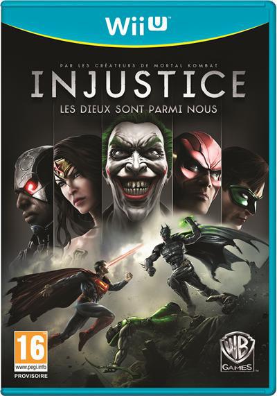 Injustice Les Dieux sont parmi nous Wii U