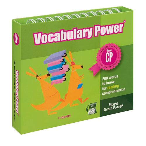 Jusqu'à -80% sur une sélection d'articles - Ex : Livre-chevalet Vocabulary Power CP