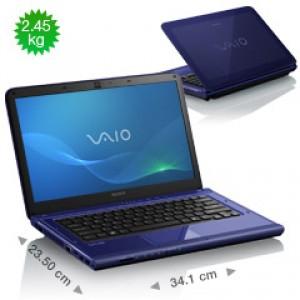 "Ordinateur portable VAIO CA2 14"" (VPCCA3S1E) Intel CoreTM i3-2310M + RADEON 512 Mo - reconditionné"