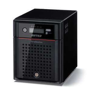 Serveur NAS Buffalo Technology TeraStation 4400 - 4 baies - Intel Atom D2550 à 1,86 GHz double cœur - 2 Go de ram