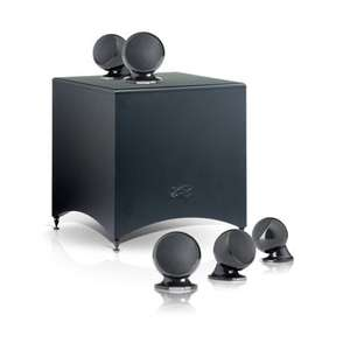 Pack d'enceintes Home-Cinéma 5.1 Cabasse  Alcyone 2 Noir