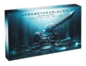 """Coffret 9 Blu-Ray 3D """"De Prometheus à Alien, l'évolution"""" - Edition collector"""