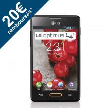 """Smartphone 3.8"""" LG Optimus L4 II 4 Go (Avec ODR de 20€)"""
