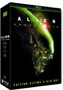 Coffret 6 Blu-ray Alien Anthologie- Edition Ultimate