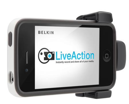LiveAction Grip - iPhone 4s/4 et iPod Touch