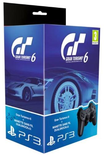 Gran Turismo 6 + manette DualShock 3 sur PS3