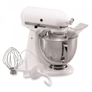 Robot de cuisine KITCHENAID 5K45SSEWH Blanc