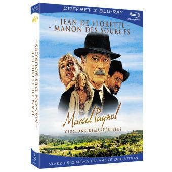 Coffret Blu-Ray Marcel Pagnol - Encodage VC1 - Jean de Florette - Manon des Sources