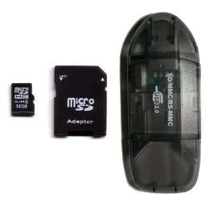 Carte MicroSDHC 32Go Classe 6