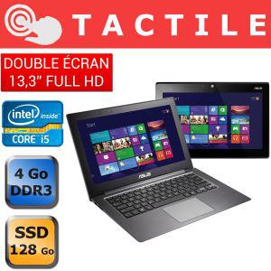 "PC Portable Convertible Asus Zenbook TAICHI31 - 2 écrans 13"" IPS Full HD - SSD - i5"