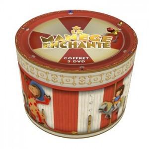 """Coffre 3 DVD """"Le manège enchanté"""""""