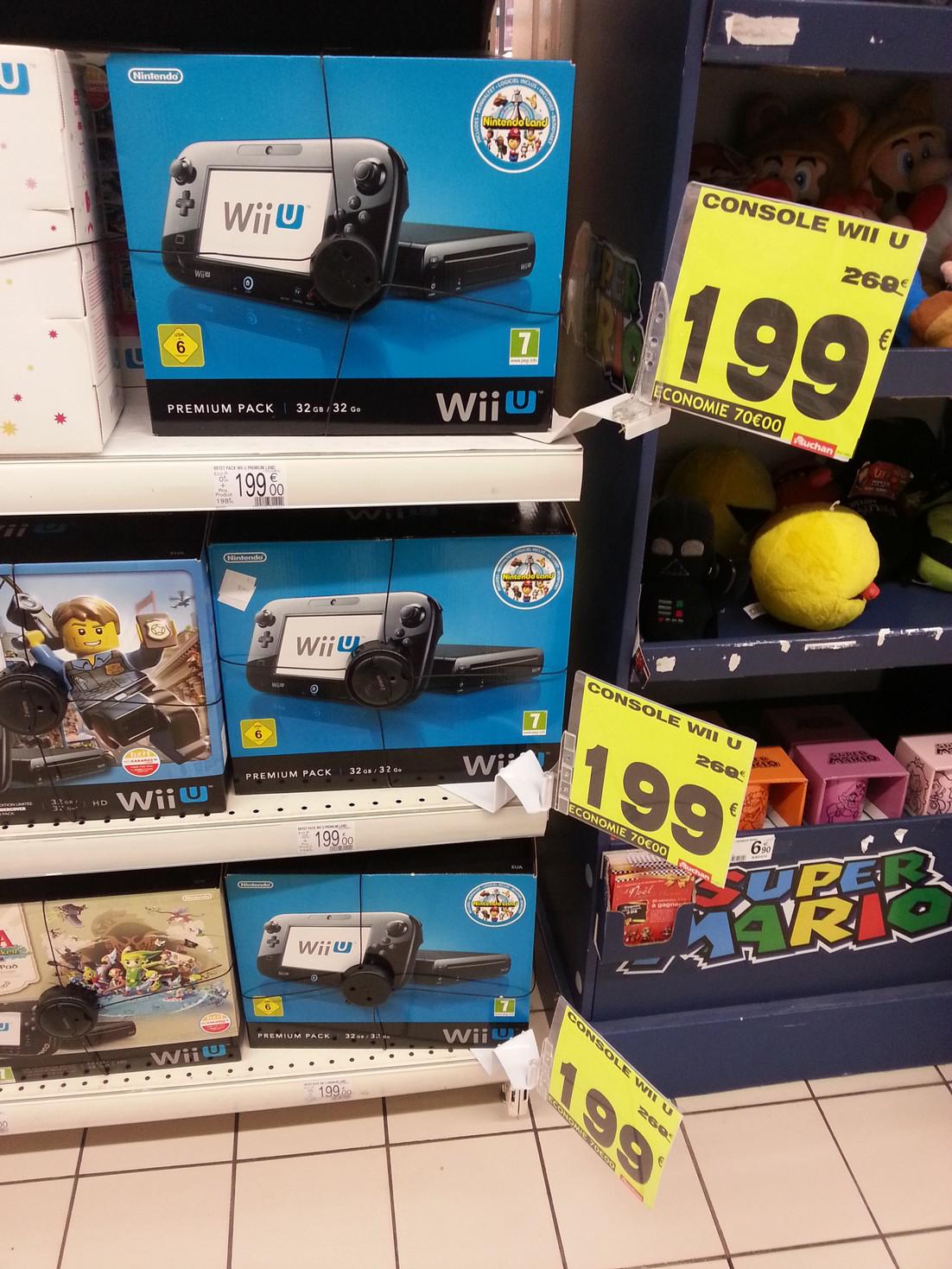 Pack Console Nintendo Wii U 32 Go + Nintendo Land