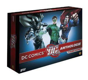 Coffret DVD DC Comics Anthologie - 7 films animés