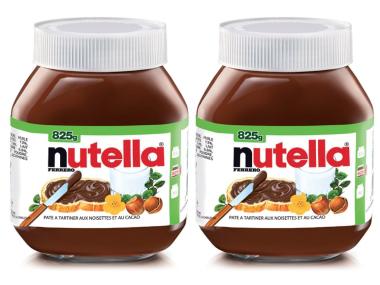 2 pots de Nutella 825g