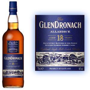 Whisky Glendronach 18 ans Allardice 70cl 46°
