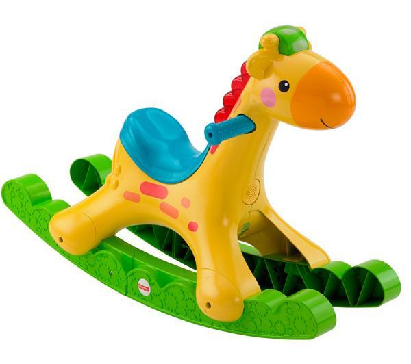 Ma girafe musicale à bascule Fisher Price