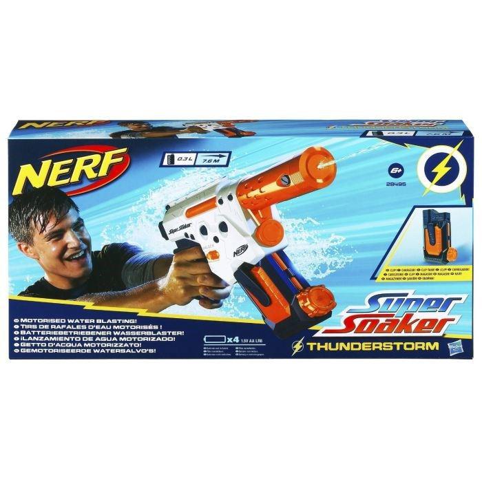 2 pistolets à eau Nerf Super Soaker Thunderstorm (avec ODR)