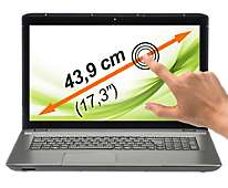 """-40% supplémentaires sur tout le site, y compris les soldes - Ex: Ordinateur portable tactile 17"""" Medion Akoya E7223T"""