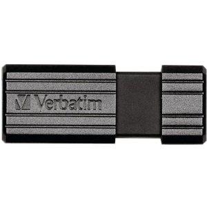Clé USB2.0 Verbatim Store'n' Go PinStripe 64Go Noir