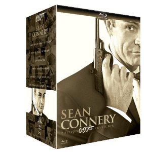 Coffret 6 Blu-ray James Bond Sean Connery
