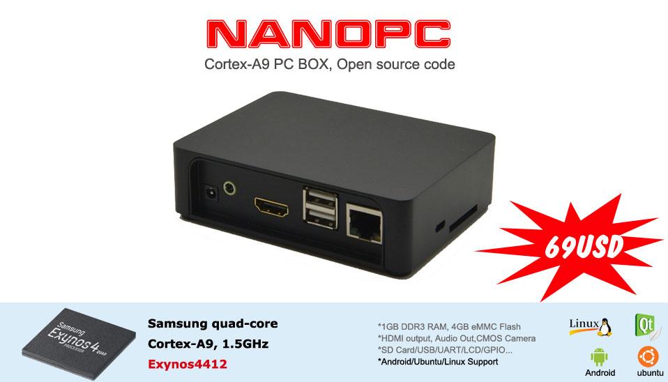 [Précommande] FriendlyARM NanoPC
