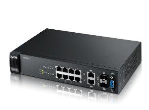 Switch Gigabit administrable ZyXEL GS2200-8 (8x 10/100/1000, 2x Combo pour SFP)