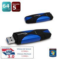 Clé USB 3.0 Kingston DataTraveler HyperX 64 Go