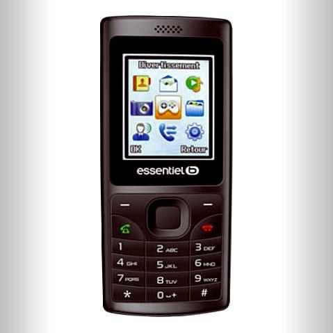 Téléphone portable EssentielB Black Star LS
